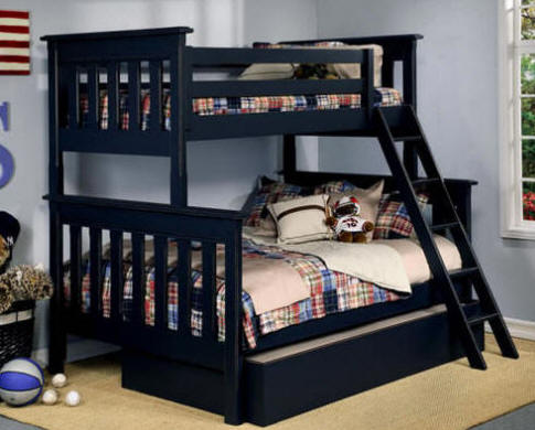 diy bunk bed twin over full