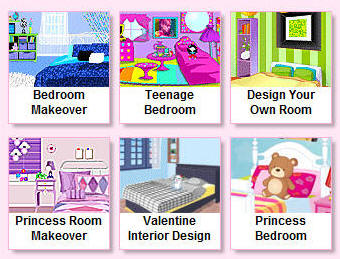bedroom makeovers it is a fun game to share with little princesses