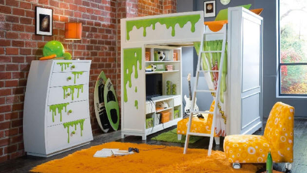 Nickelodeon Loft Bed 630 x 356