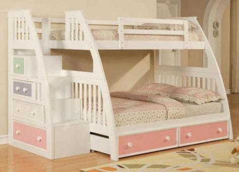 Diy Built In Bunk Bed Plans Twin Over Full Download Build