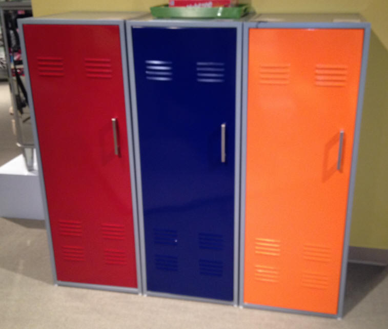 lockers for colorful storage