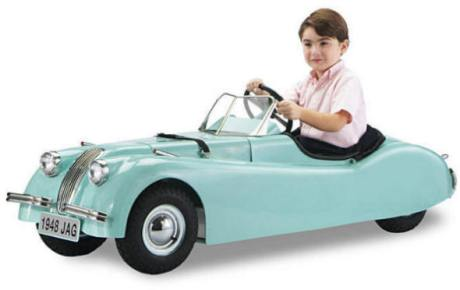 Electric Jaguar Ride On  Car at Totally Kids fun furniture and toys