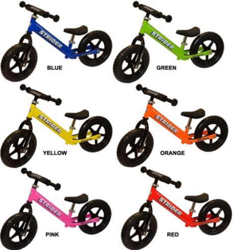 4cfca387d40 Strider Balance Bike fun colors at Totally Kids fun furniture & toys