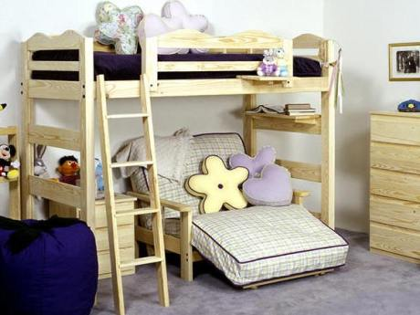 Wilber Hall Loft Extra Long Bunk Beds