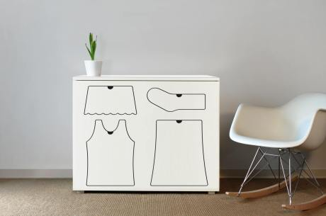 Girl's Training Dresser