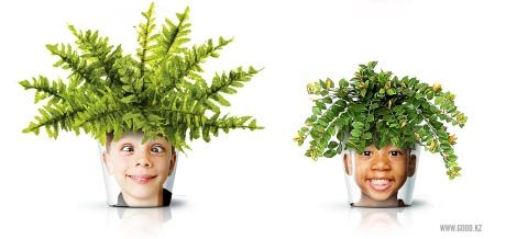 Crazy kid plant.