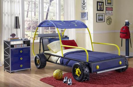 Malibu Dune Buggy Twin Bed