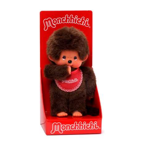 Monchhichi Red Bib