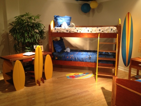 Surf's up at Totally Kids fun furniture and toys