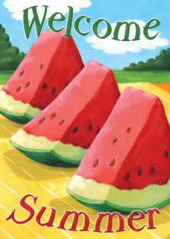 welcome Summer Watermelon