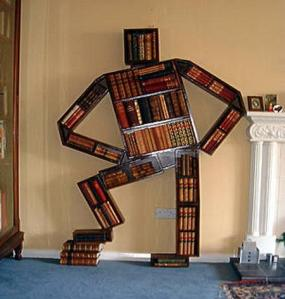 bookshelf man