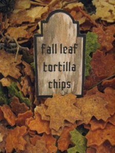 Tortilla leaves