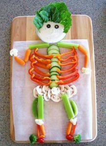 vegie skeleton