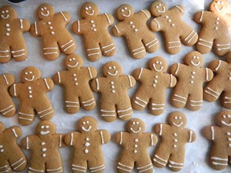 Many Gingerbread Men