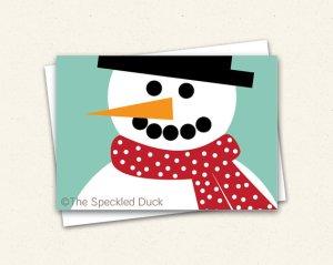 snowman ty