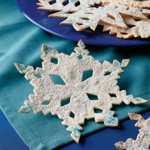 Tortilla Snowflakes at Totally Kids