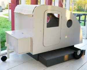 Camper Bed ready to go