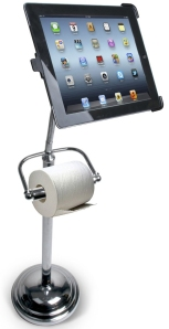 iPad bathroom