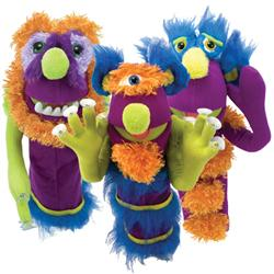 Monster Puppets at Totally Kids