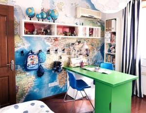 Kids room map