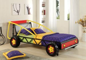 Colorfull Metal Car Bed