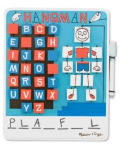 Flip to Win Hangman at Totally Kids fun furniture and toys