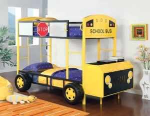 School Bus Bunks