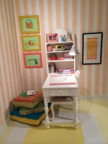 Sideways Desk