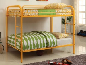 Yellow Bunk Beds