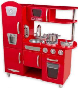 Red Retro Kitchen large