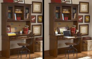 Jefferson Desk and Hutch