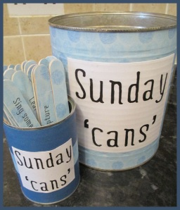 Sunday Cans