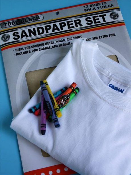 Sandpaper Rainbow T-shirt