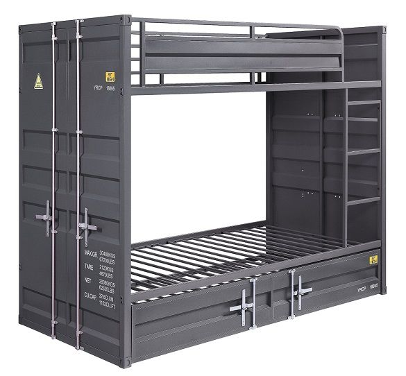 shipping_container_twin_gray_metal_bunk_beds_1